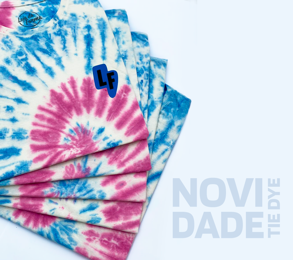Banner tie dye