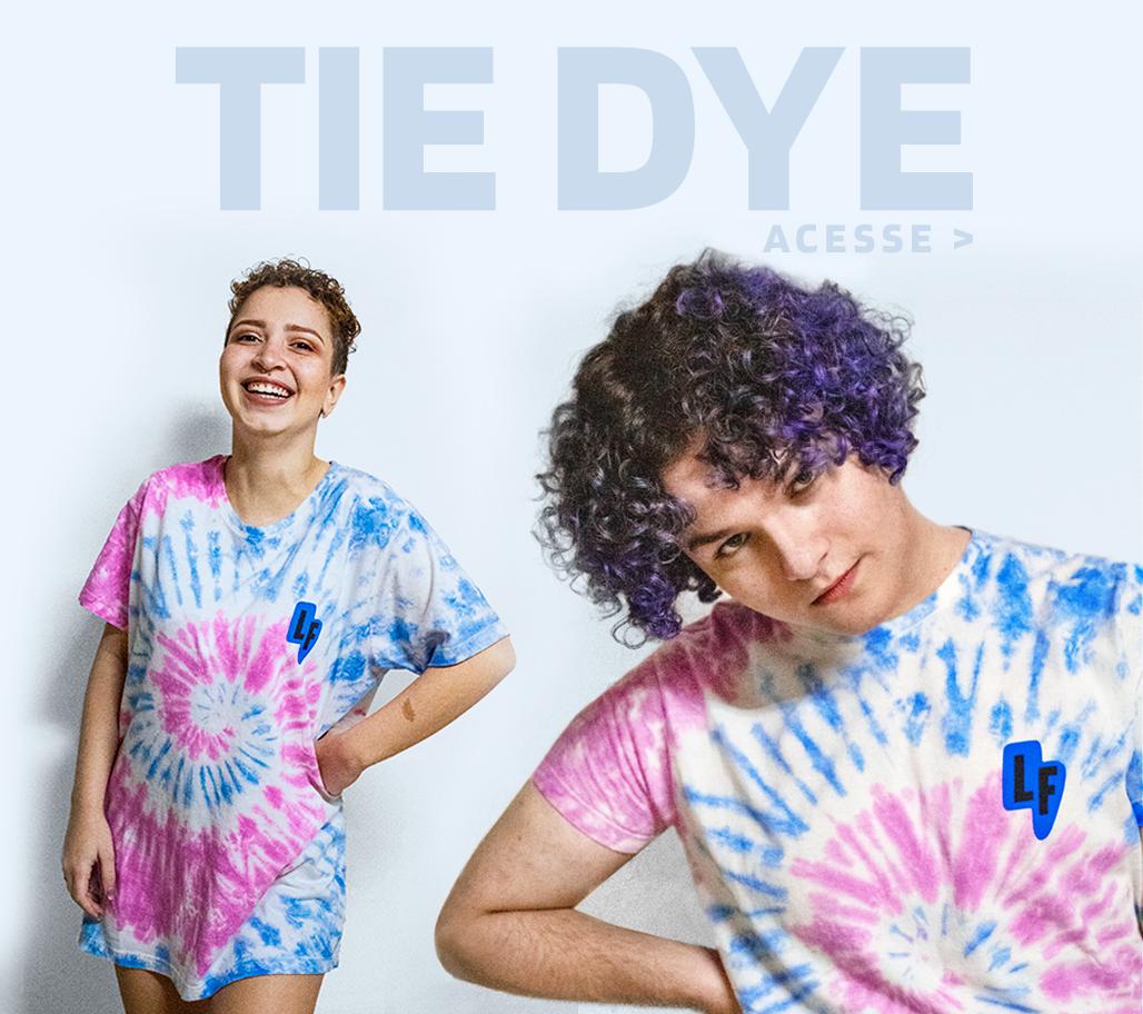 Banner camiseta tie dye