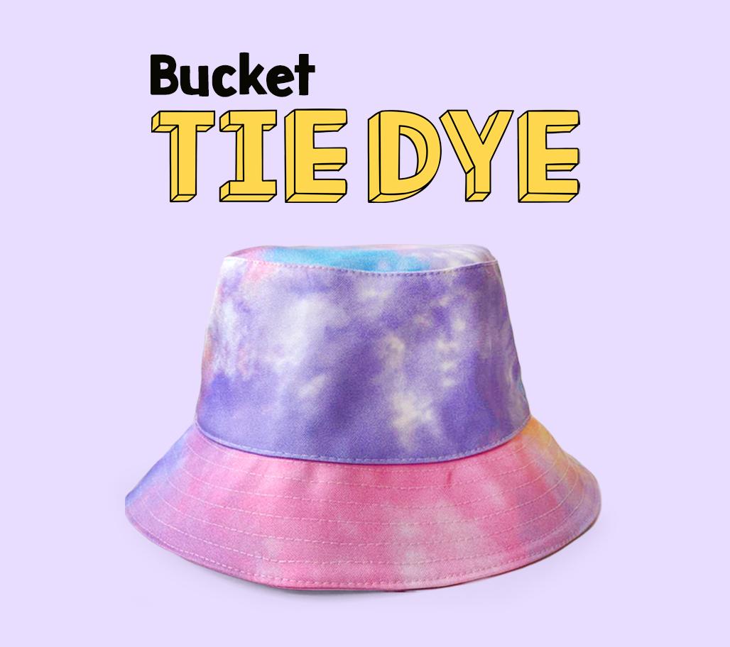 BANNER BUCKET TIE DYE