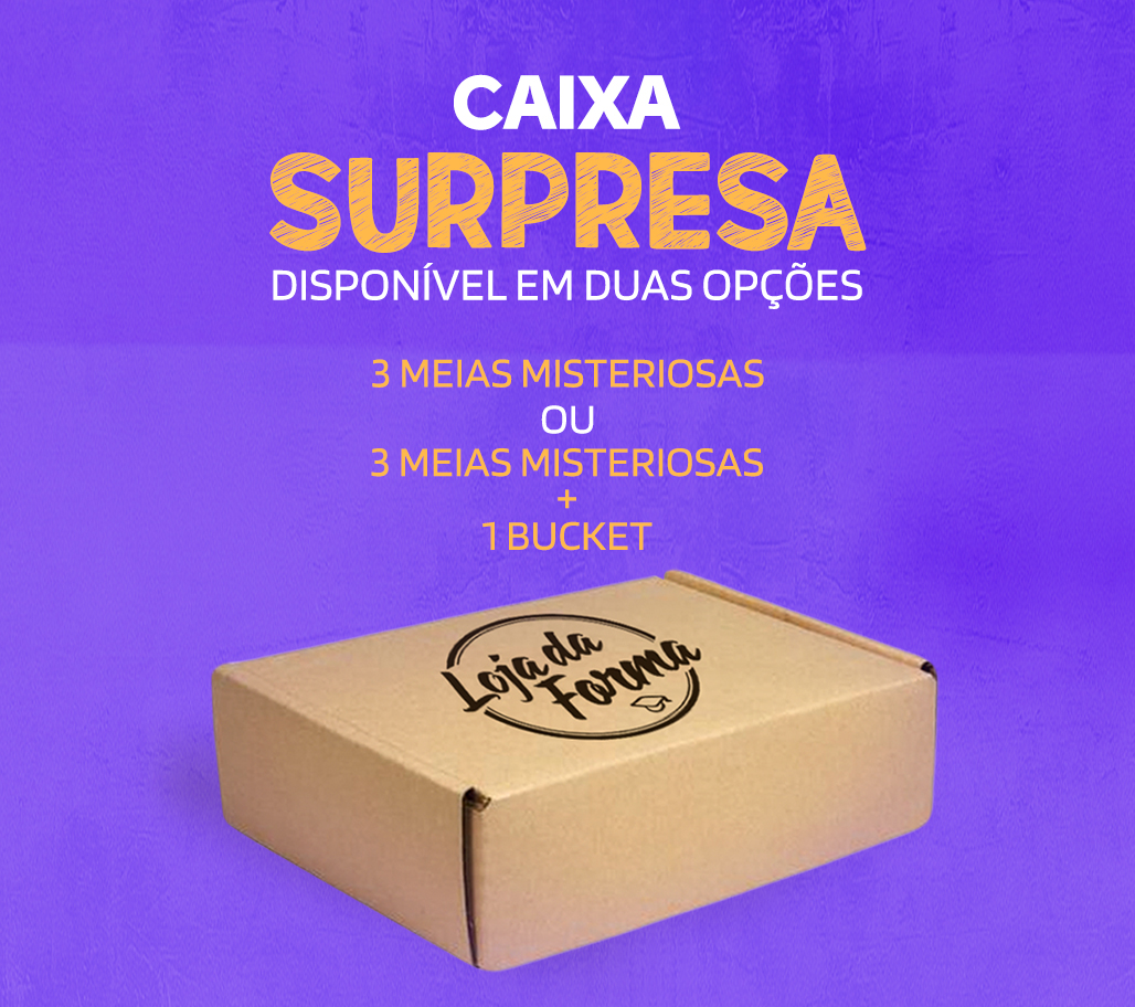 CAIXA SURPRESA